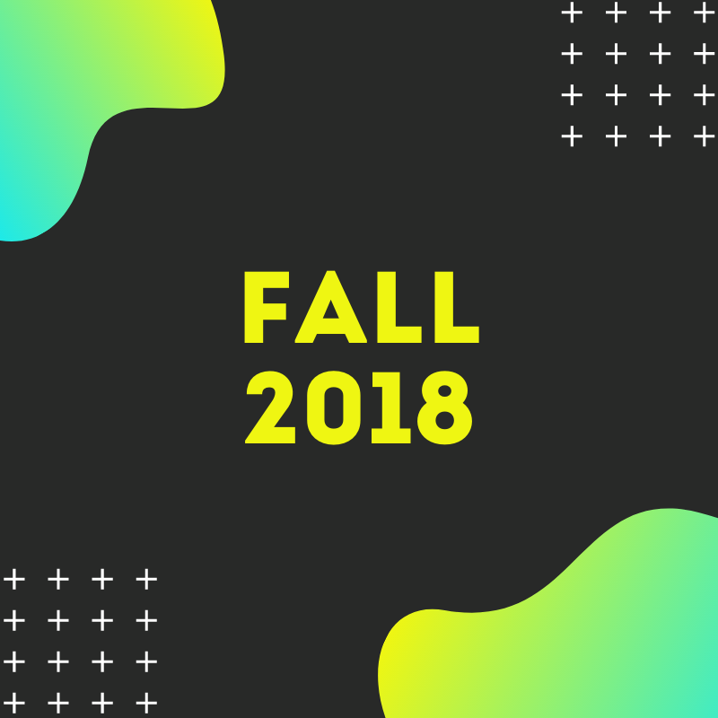 Fall 2018 projects