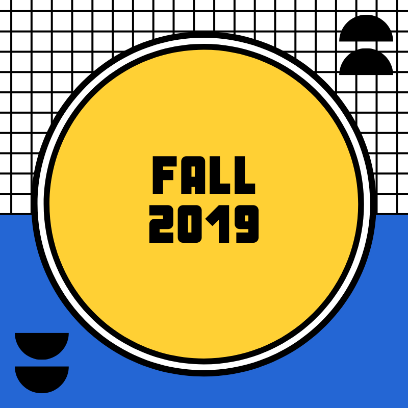 Fall 2019 projects